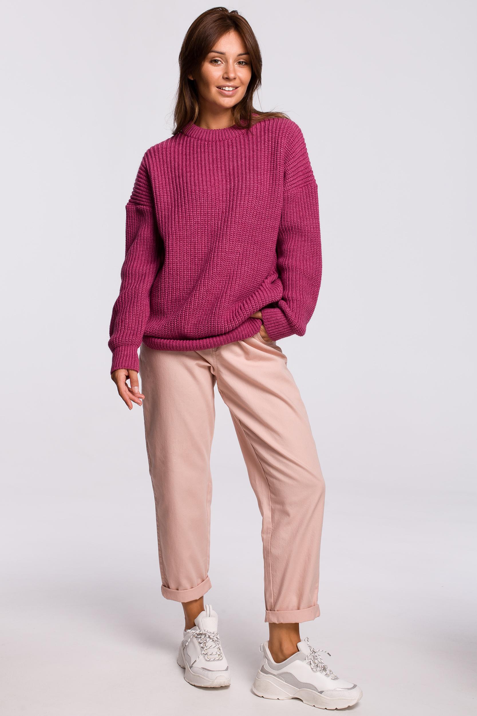 Sweater in Erika Vorderansicht komplett