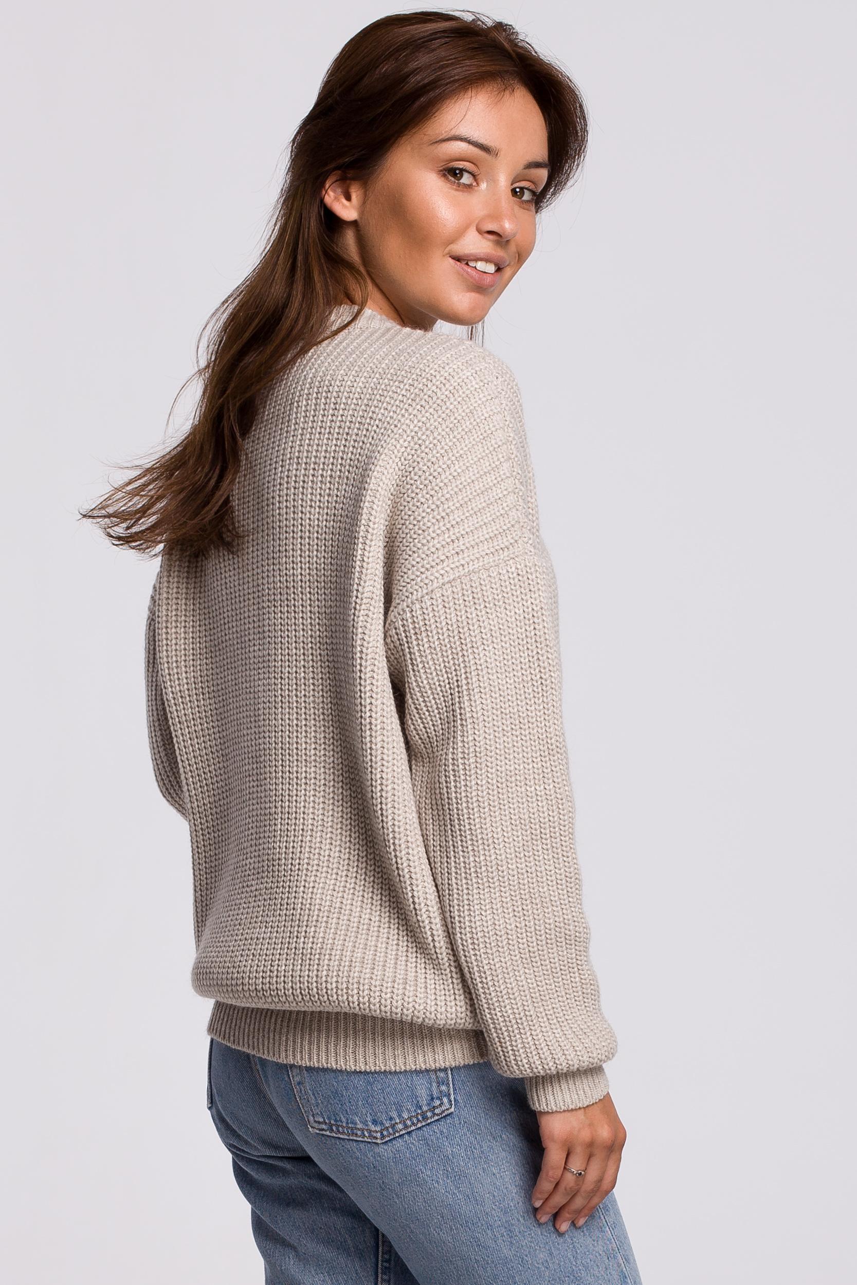 Sweater in Beige Rückansicht