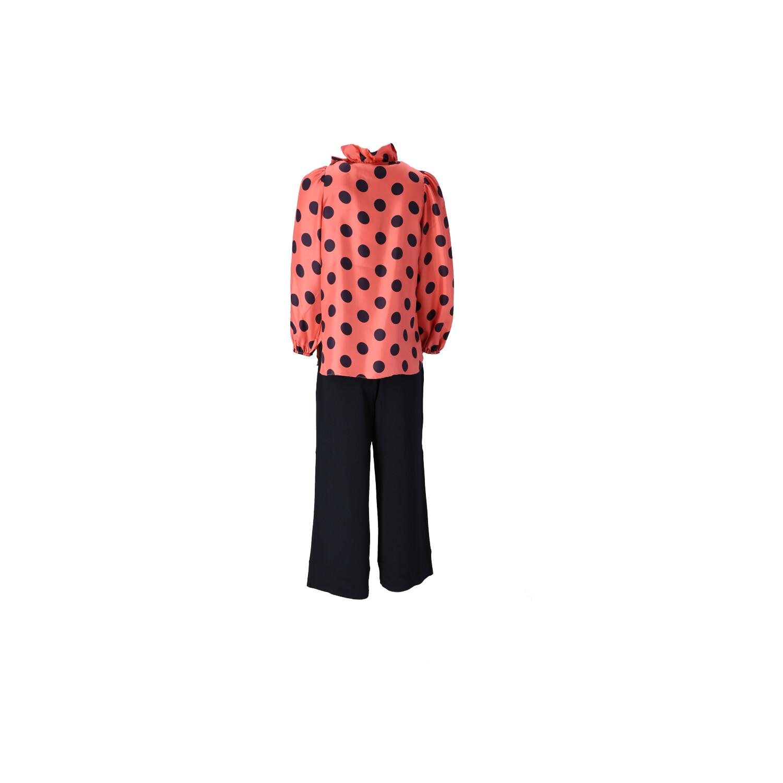 Outfit in Pink-Schwarz  Rückansicht