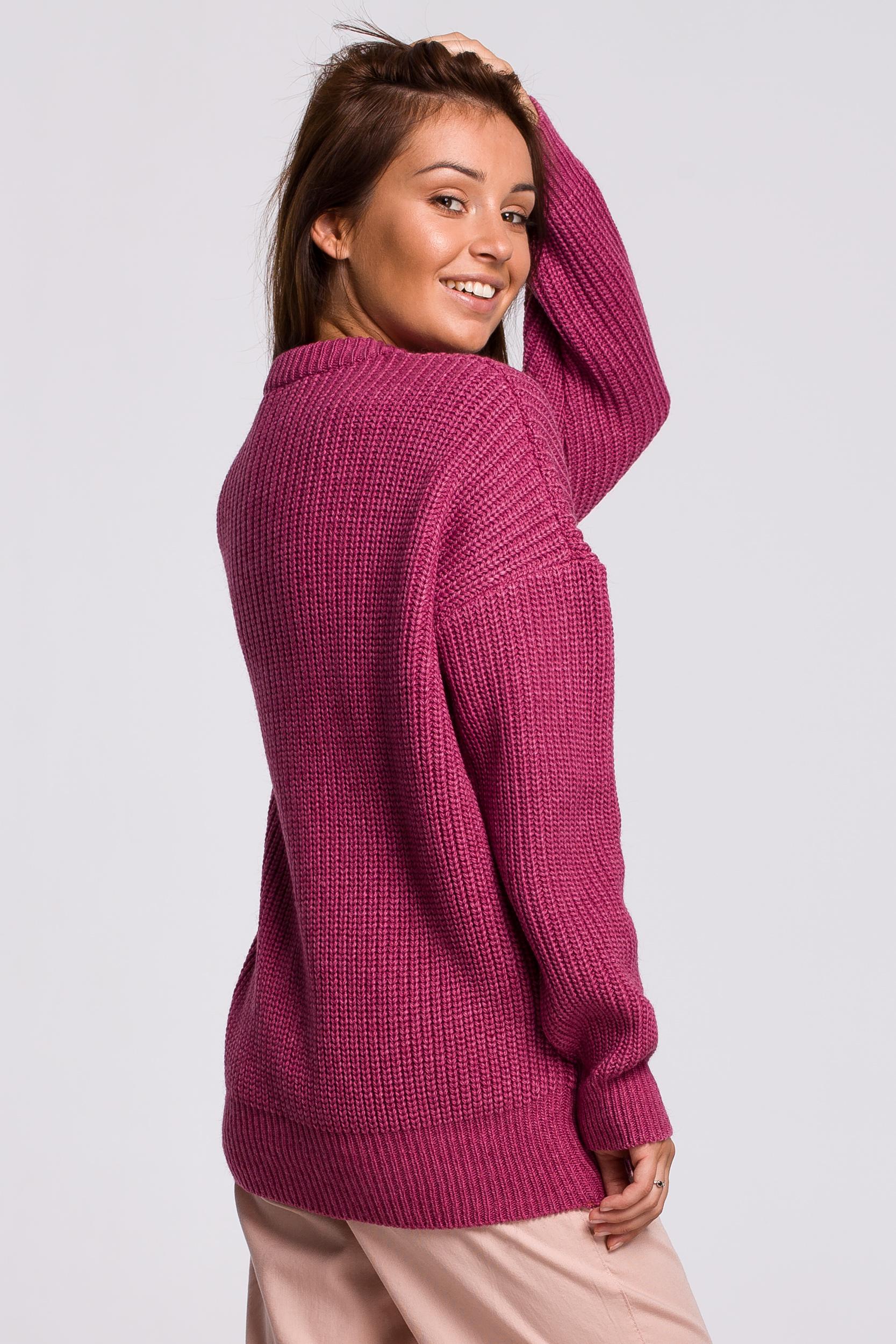 Sweater in Erika Rückansicht