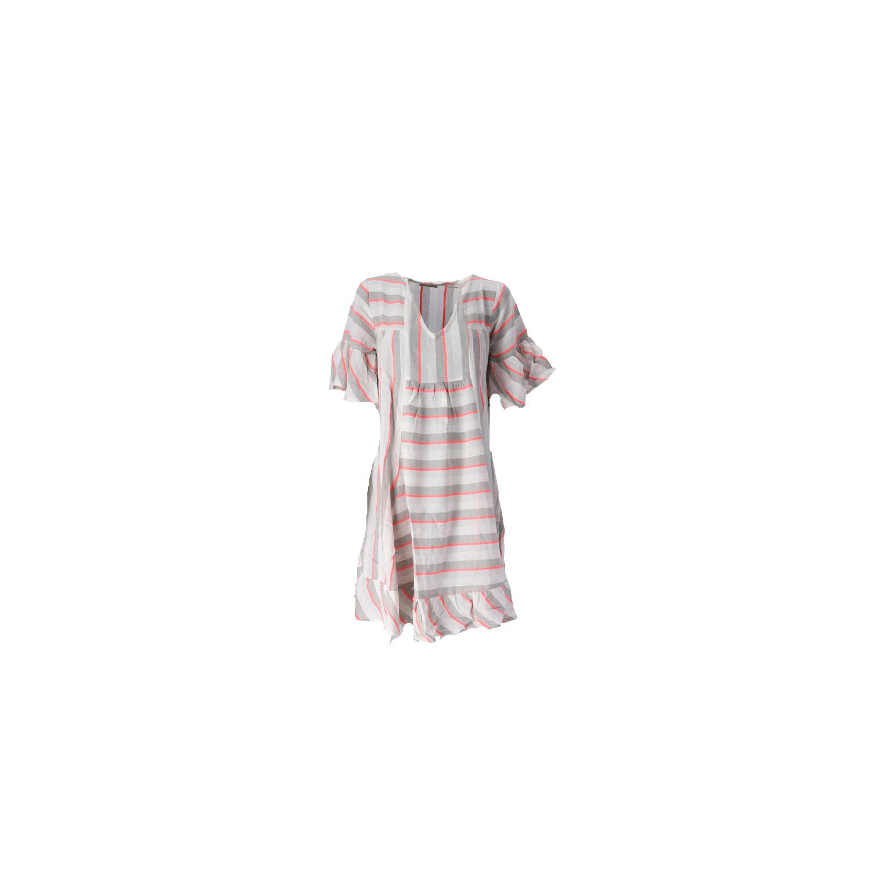 Boho-Kleid in Kurz Vorderansicht