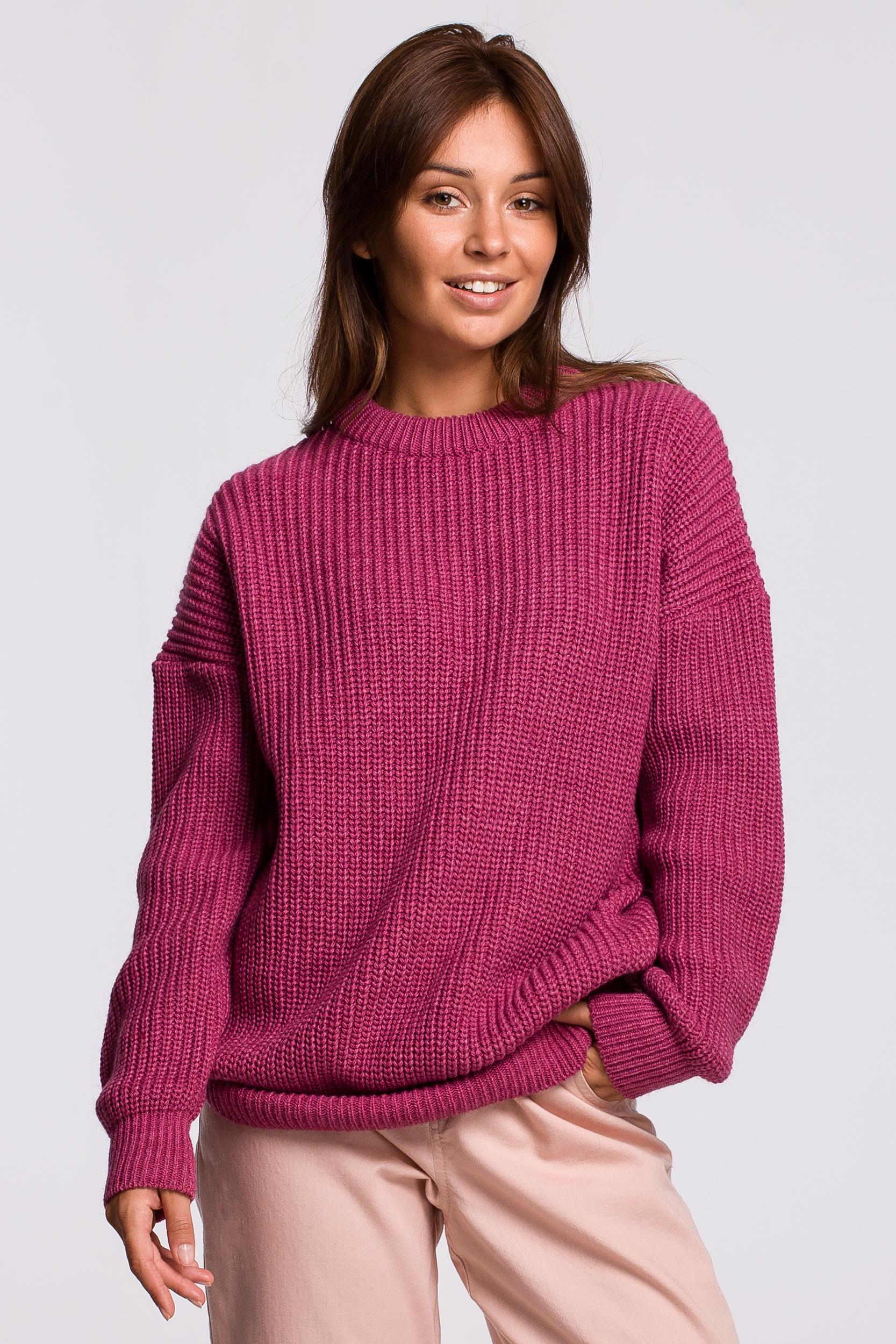 Sweater in Erika Vorderansicht