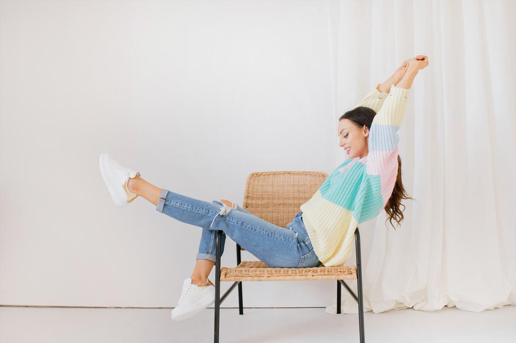 Sweater mit schönen Farben