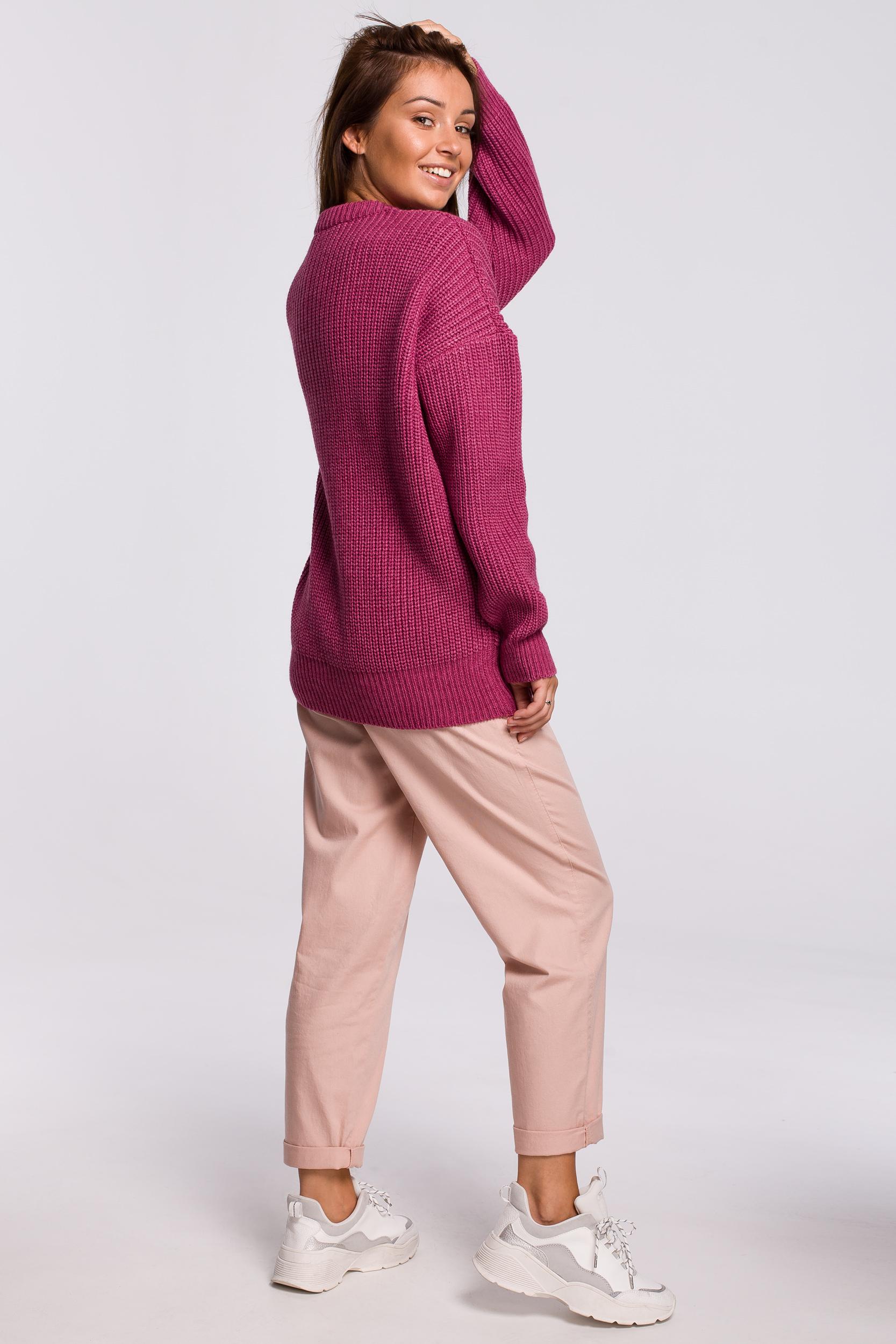 Sweater in Erika Seitenansicht