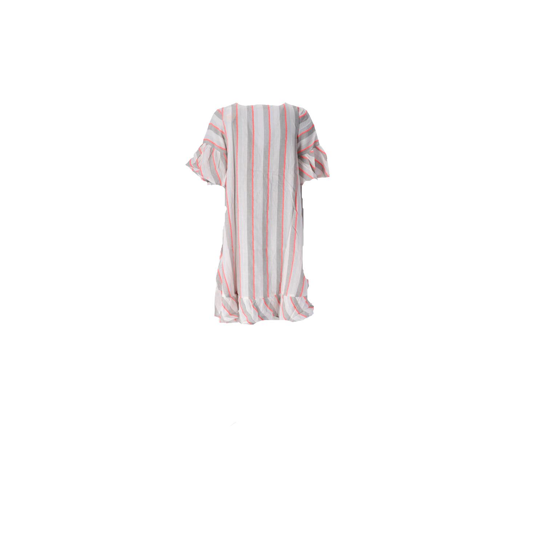 Boho-Kleid in Kurz Rückansicht